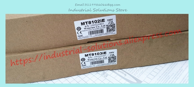 MT8102iE MT8103iE New 10.1 Inch Touch Screen Panel HMI TFT 1024*600 Boxed