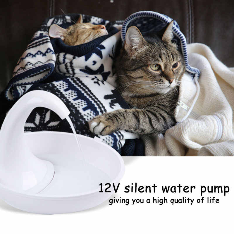 白鳥自動猫ウォーターディスペンサー噴水飲料猫酒飲みボウルデバイス電気噴水ペット酒飲みボウル用品