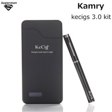 New arrive Kamry kecigs 3.0 kit Electronic Cigarette Double Liquid Micro Pen Vape Kit balck white E-cigarettes Weipa Vaporizer