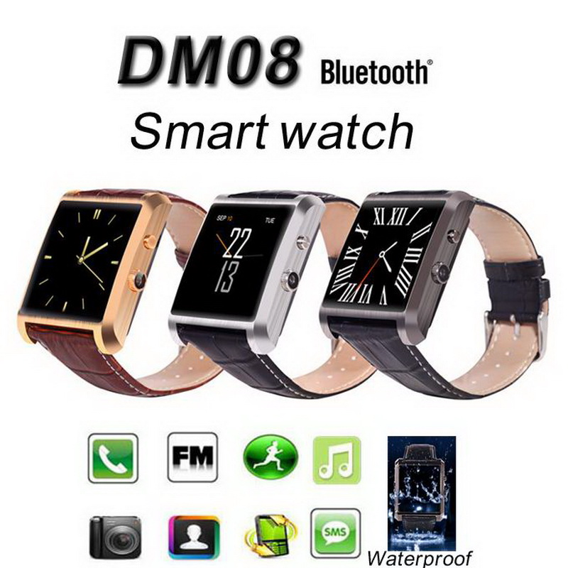 12PCS Luxury Sport Bluetooth U font b Smart b font font b Watch b font DM08