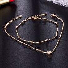 Heart Shape Ankle Bracelet