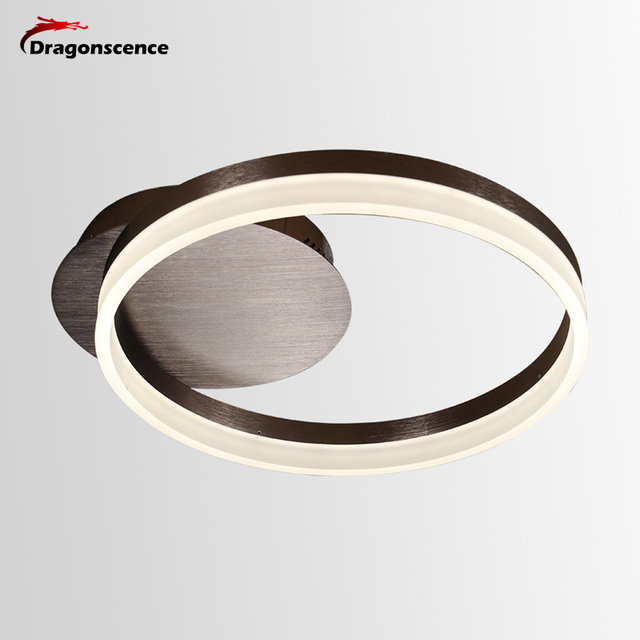 Dragonscence New Modern LED Ceiling lights Circle Rings acrylic ceiling Lamp fixtures for living dining Children's Room bed room
