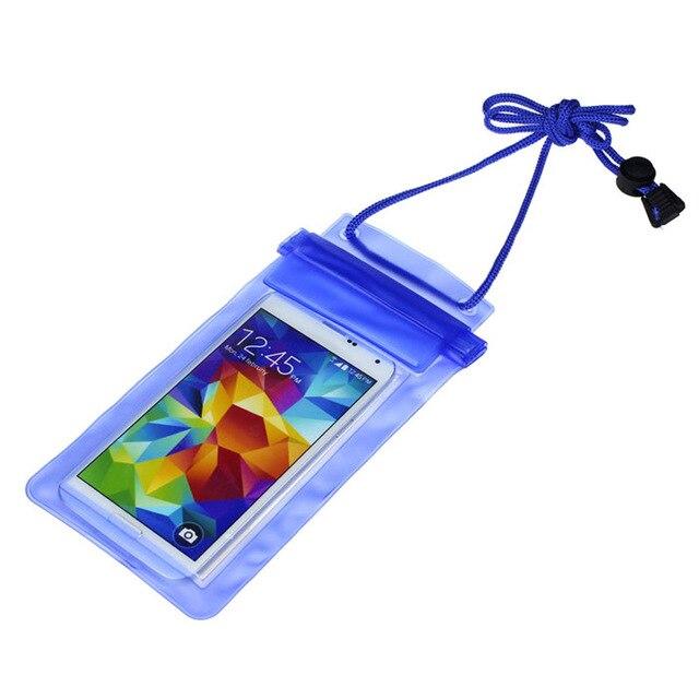 150 X Transparent Étanche Pochette de Téléphone portable Sac Cas Couverture Pour iPhone 4 5 6 7 Plus Galaxy S4 5 6 Note 2 3 Honneur 6 Plus MI 3 4