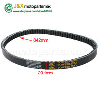 FREE SHIPPING Gates 842 20 1 Belt For GY6 150cc Lengthened Engine Scooters