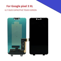6.3' OLED Display For Google pixel 3 xl pixel3 xl LCD Screen Touch Panel Assembly Mobile Phone Parts for Pixel 3 xl