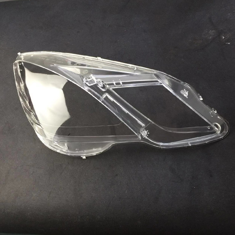 Front headlights headlights glass mask lamp cover transparent shell lamp masks For Mercedes Benz w212 2009