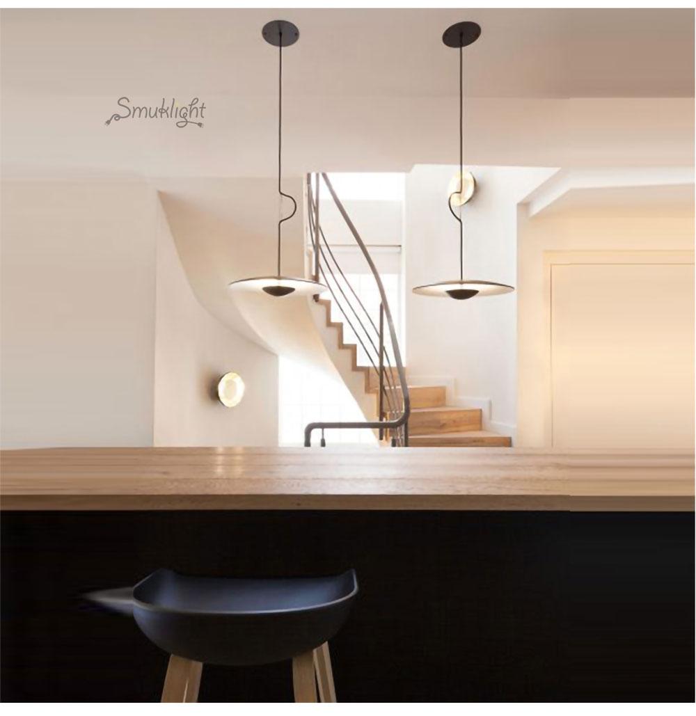 美式简约北欧现代艺术风格意大利设计师客厅餐厅床头吧台卧室吊灯_10