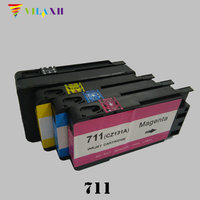 For HP 711 Ink Cartridges For HP711 XL Designjet T120 T520 Printer