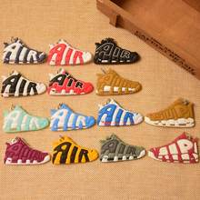 Mini Silicone AIR Keychain Bag Charm Woman Men Kids Key Ring Gifts Sneaker Key Holder Pendant Accessories Jordan Shoes Key Chain(China)