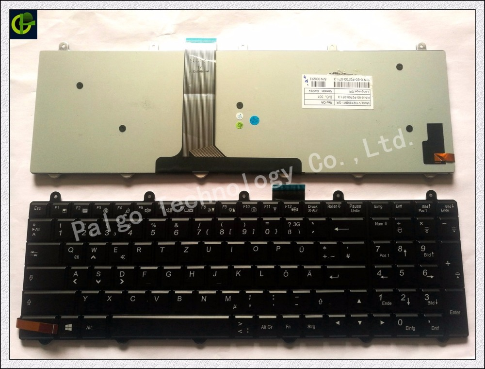 Backlit Keyboard For MSI GE60 GE70 GX60 GX70 GT60 GT70 GT780 GT783 MS-1762 German GR DE Neu QWERTZ Deutsch deutsche Tastatur цена