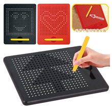 Portable Magnetic Ball Sketch Pad Tablet Drawing Board with Magnetic Stylus