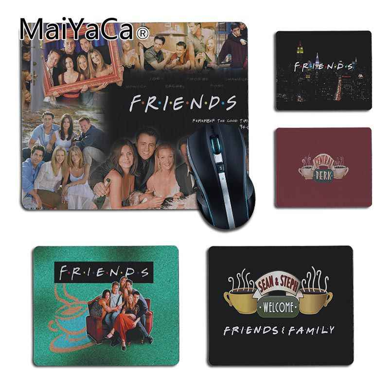 MaiYaCa Vintage Cool friends TV Shows Unique Desktop Pad Game Mousepad anime Small Size Computer desktop Gaming Mouse Pad