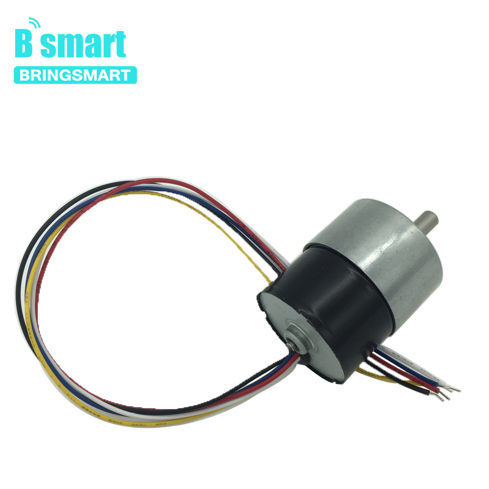 Bringsmart JGB37-3525 Brushless Motor 24V Gear Motor DC High Torque Reversible Signal Feedback Gearbox Low Speed Engine лампочка rev led r39 e14 3w 4000k холодный свет 32362 4