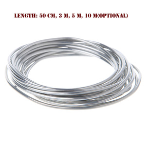 Image 4 - 50cm 3m 5m 10m Solder Wire For Welding Wires Condenser Car Air Conditioning Refrigerator Low Temperature Aluminum Electrode