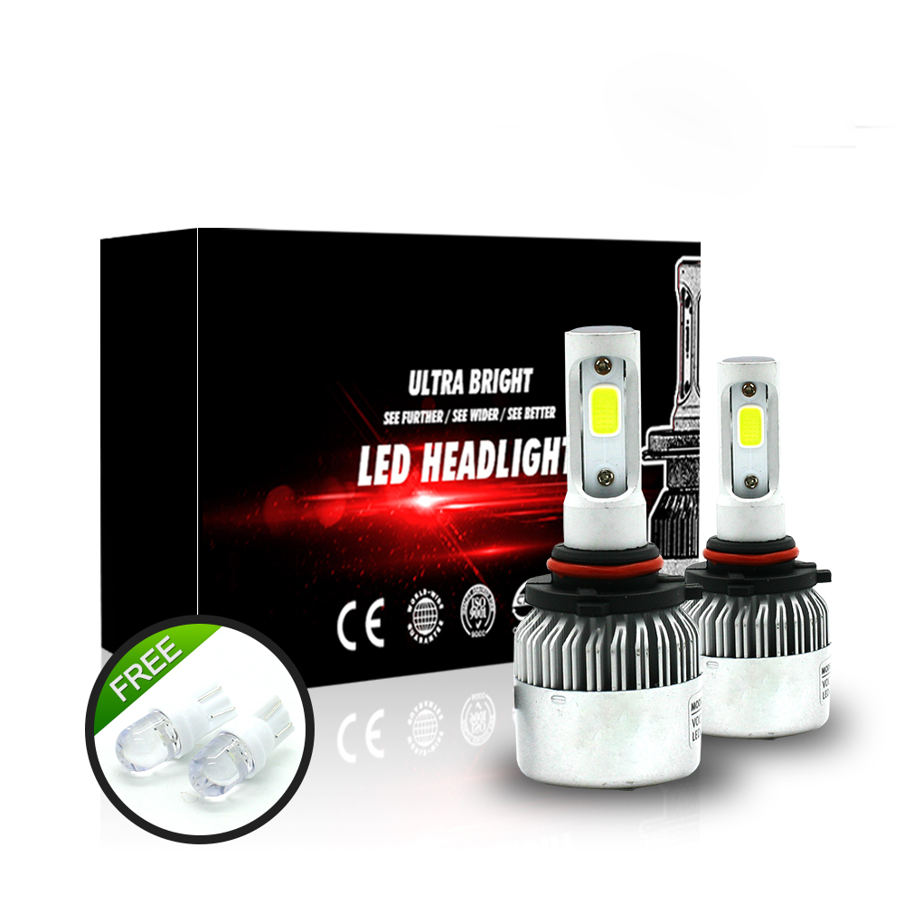 360Lahl for Toyota 2008 Prius H11 9005/HB3 LED Hight light low light 80W 8000LM 6000K/White Strong Bright Car Headlight