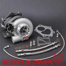 Kinugawa Turbocharger Mitsubishi Evolution X EVO 10 Turbo 3 inches Anti-surge TD05H 16G / Billet wheel / Actuator #321-02034-071 цена в Москве и Питере