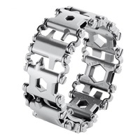 Mounchain Man Outdoor Spliced Bracelet Multifunctional Wearing Screwdriver Tool Hand Chain Field Survival Bracelet