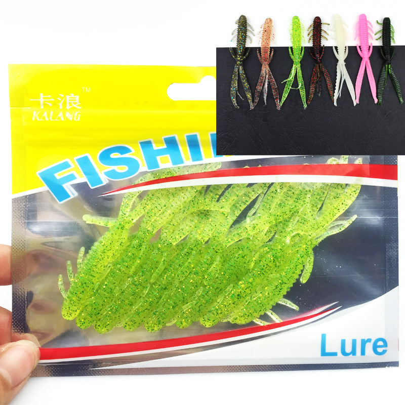 Hot Sale 8pcs/Set Soft Silicone Artificial Soft Bait 7cm/1.8g Fishing Lure soft with salt smell Swim Bait Fishing Worm Lure 152 100pcs lot artificial fishing lure bionic fish soft bait fishy smell pesca fishing tackle lures 7cm 2 3g fishing bait