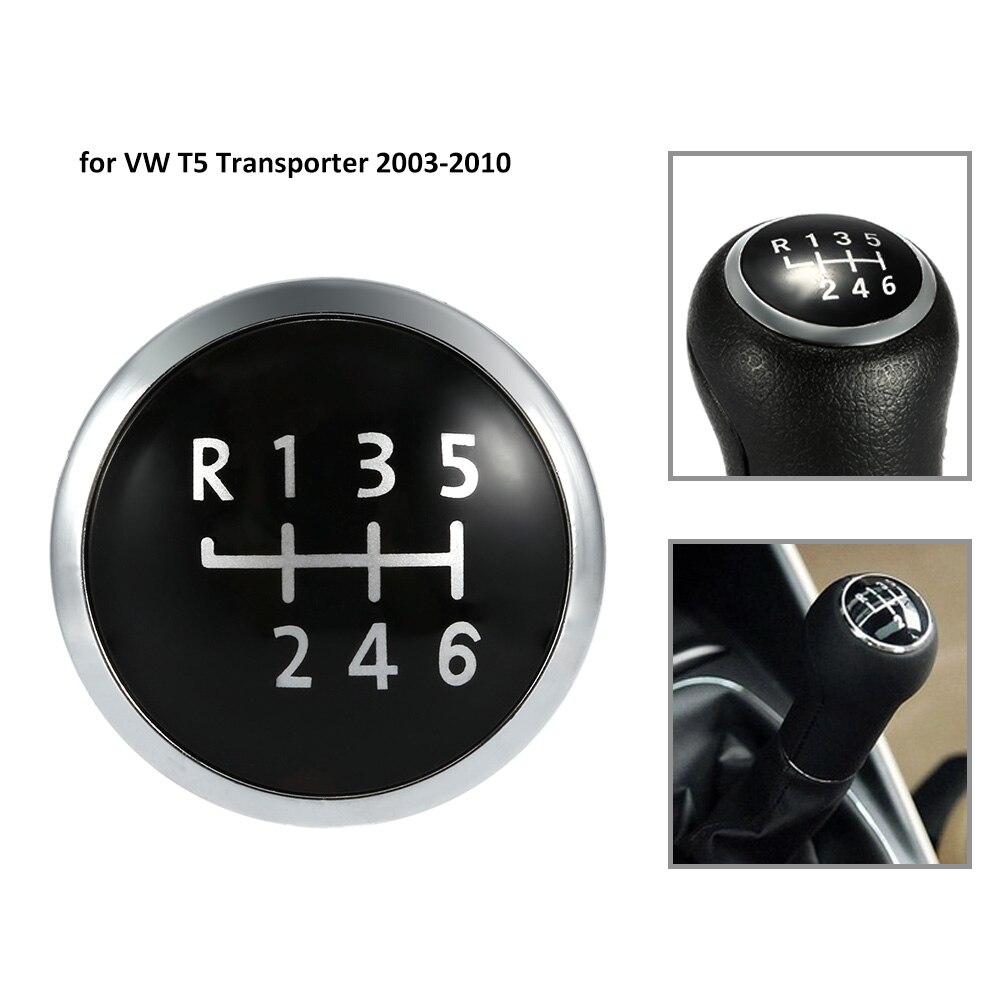 6 Speed Gear Knob Badge Emblem Cap Knob Cover Replacement
