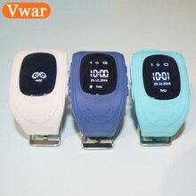 Vwar дети GW300 gps трекер sos Смарт часы Носимых устройств фунтов GPS тройной позиционирования Android IOS часы телефон сторону сим Слот