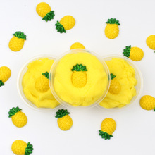 Slime Toys Popular Pineapple  DIY Modeling Clay Fluffy Slime Learning Education Toy For Children Release Stress Polymer Clay