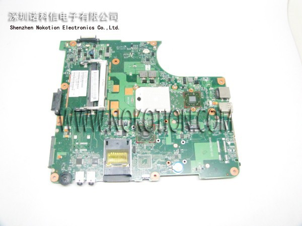 все цены на  V000148140 Laptop Motherboard For Toshiba Satellite L355D L355D-S7901 main board DDR2 1310A2177910 6050A2175001-MB-A02 free cpu  онлайн