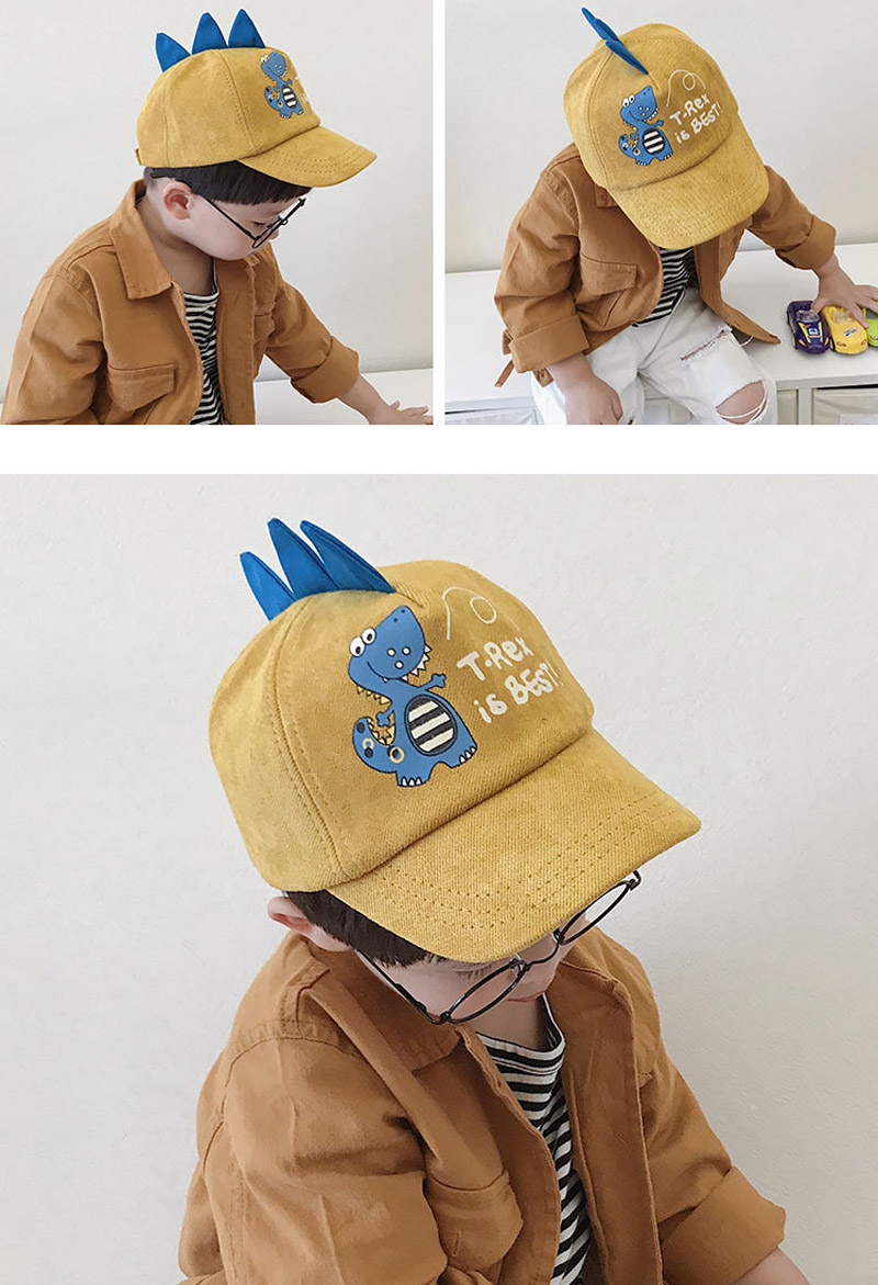 HTB1QhX0LMHqK1RjSZFEq6AGMXXax - Doitbest 2-8 Years old Summer Children Baseball Cap Boys Girls Cartoon Dinosaur Snapback mesh Kids HipHop Hat Sun cap