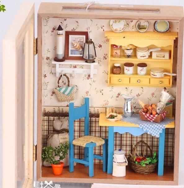 Very beautiful handmade doll houses grannys kitchen assemble very beautiful handmade doll houses grannys kitchen assemble dollhouse wooden doll houses diy do it yourself in doll houses from toys hobbies on solutioingenieria Choice Image