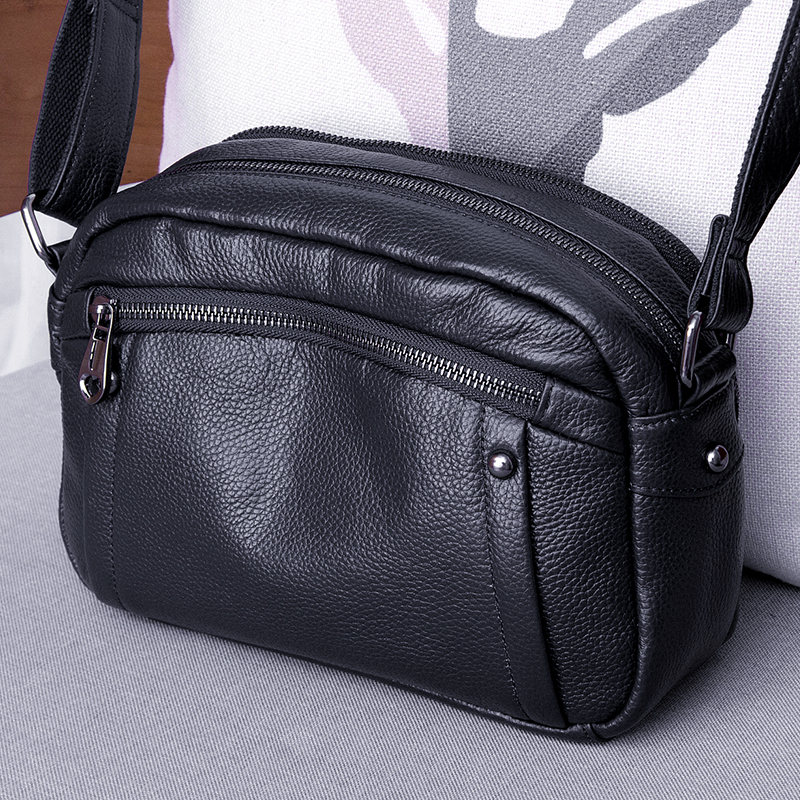 Cow Leather Small Shoulder CrossBody Bags For Women High Quality Genuine Leather Womens Handbags Flap Bags LadyCow Leather Small Shoulder CrossBody Bags For Women High Quality Genuine Leather Womens Handbags Flap Bags Lady