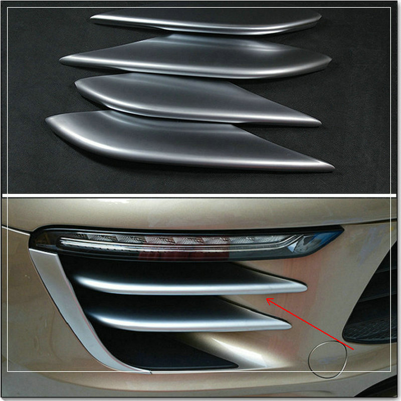 car styling Automobile ABS chrome-plated decorative laminated for Porsche macan 2014 2015 2016 диски helo he844 chrome plated r20