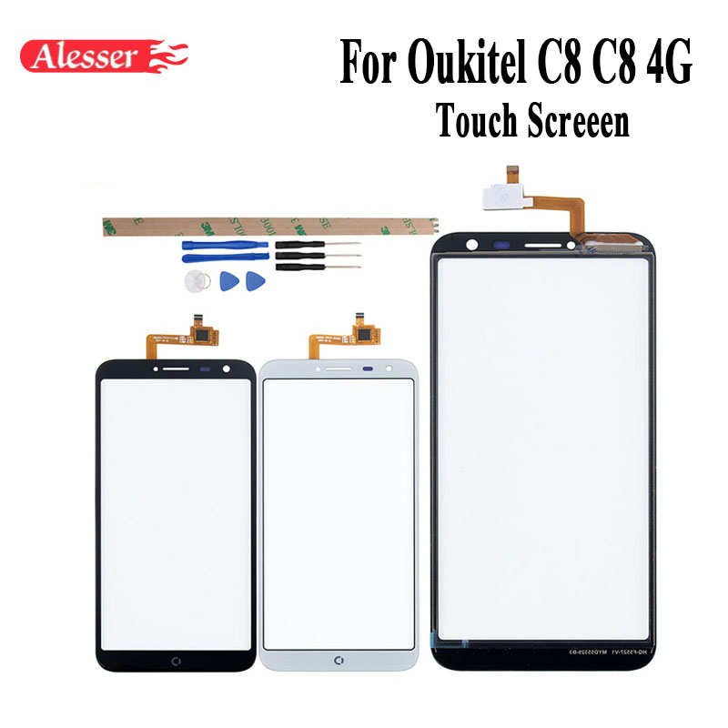Alesser For Oukitel C8 C8 4G Sensor Touch Screen 5.5 Inch Perfect Repair Parts Touch Panel+Tools+Adhesive For Oukitel C8 C8 4GAlesser For Oukitel C8 C8 4G Sensor Touch Screen 5.5 Inch Perfect Repair Parts Touch Panel+Tools+Adhesive For Oukitel C8 C8 4G