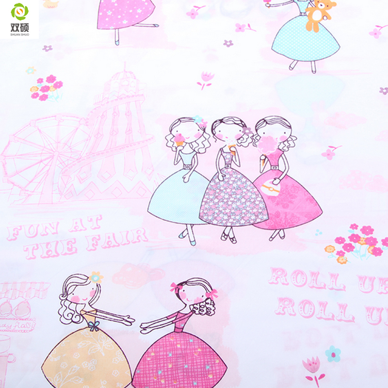 Girl curtain fabric curtain menzilperde net for Fabrics for children s curtains