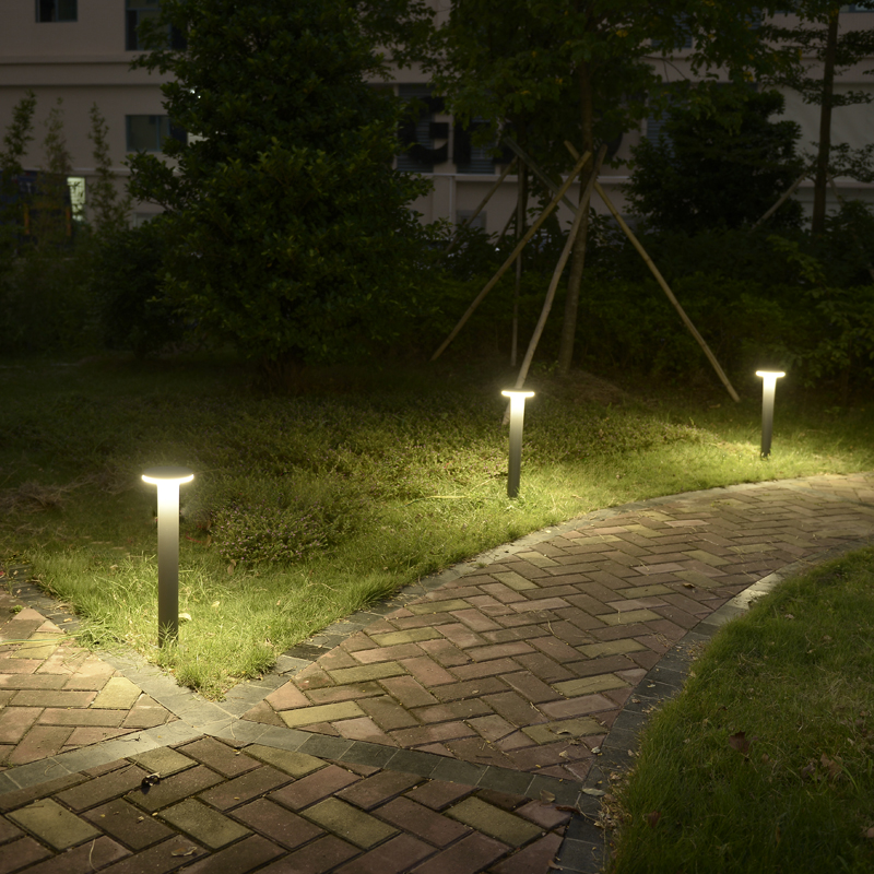 IP54 waterproof led Pillar Lamp Pathway led landscape lighting park Lawn Light Outdoor Street Light Balcony corridor wall Lamps image