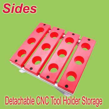 ISO40 BT40 SK40 CAT40 Detachable CNC Tool Stand Tool Storage Cabinet CNC Workshop Toolholder Container