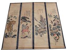 Китайская пейзажная живопись фрески античной каллиграфии и живописи