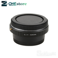 Contax Yashica CY C/Y Lens to AI F mount Adapter for nikon D7100 D750 D810 D610 D750 D850 D800 D7100 D7200 D7000 D5100 D5200