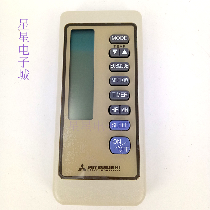 The new original remote control for mitsubishi air conditioning RKN502A 325285 SRK258HENF SRK325