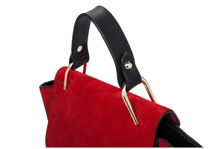 New 2015 Fashion Women Handbags Genuine Leather  Bags Woman Stitching Wild Messenger Bags For Women Casual shoulder bags  BH1120 (16)