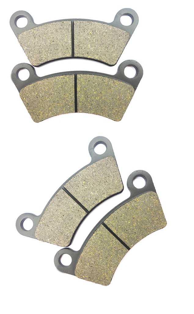 CNBK Front Left Disc Brake Pads Semi Met fit BOROSSI JOYNER ATV BB1100 BB 1100 1 Pair 2 Pads