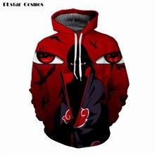 PLstar Cosmos Naruto Sasuke 3D Print Anime Kids Hoodie Sweatshirt Men Long Sleeve Outerwear Pullovers Jacket Mens Hoodies Tops