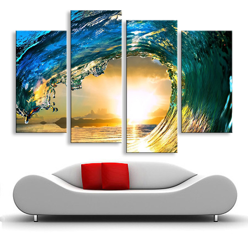 Painting & Calligraphy Stretched With Frame Canvas Poster