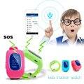 1 шт. Дети Малыш Ребенок Smart Watch GSM GPRS GPS Локатора трекер Анти-Потерянный Смарт Наручные Часы для iOS Android мини-горячая H4
