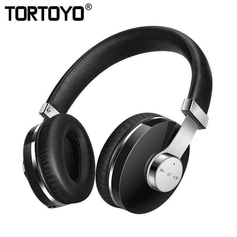 TORTOYO T9 filaire + sans fil sport Gaming Bluetooth casque HiFi basse stéréo casque écouteur avec micro pour iPhone Xiaomi Huawei