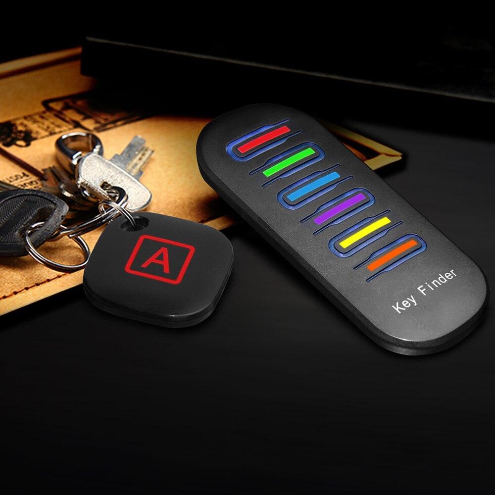 Anti-Lost Alarm Key Finder Wireless RF Item Locator Key Tracker Anti-Lost Alarm Keychain For Key Purse Pet Phone Luggage Finder