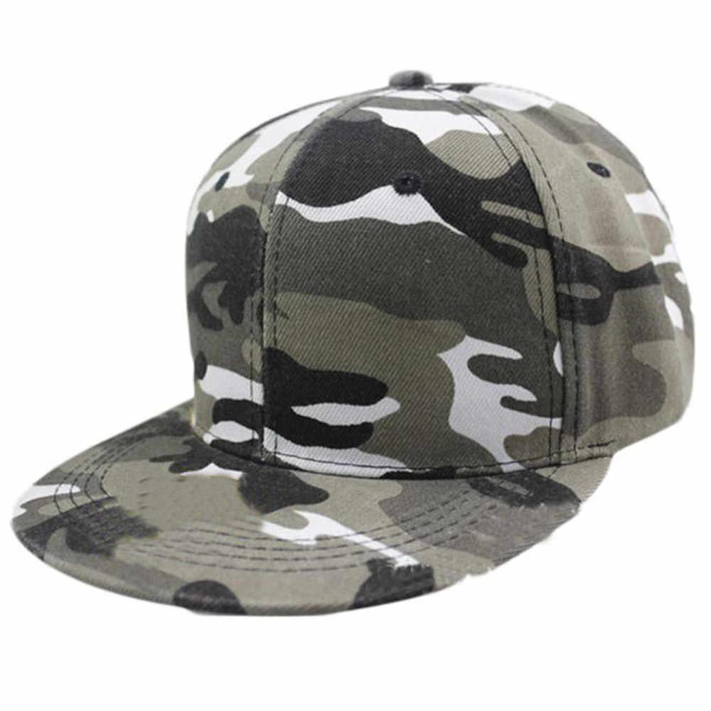 2019Men Wanita Kamuflase Bisbol Cap Hip Hop Hat Cap