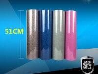 New High Quality 5rolls Iron On Glitter Heat Transfer Vinyl Printing Heat Press