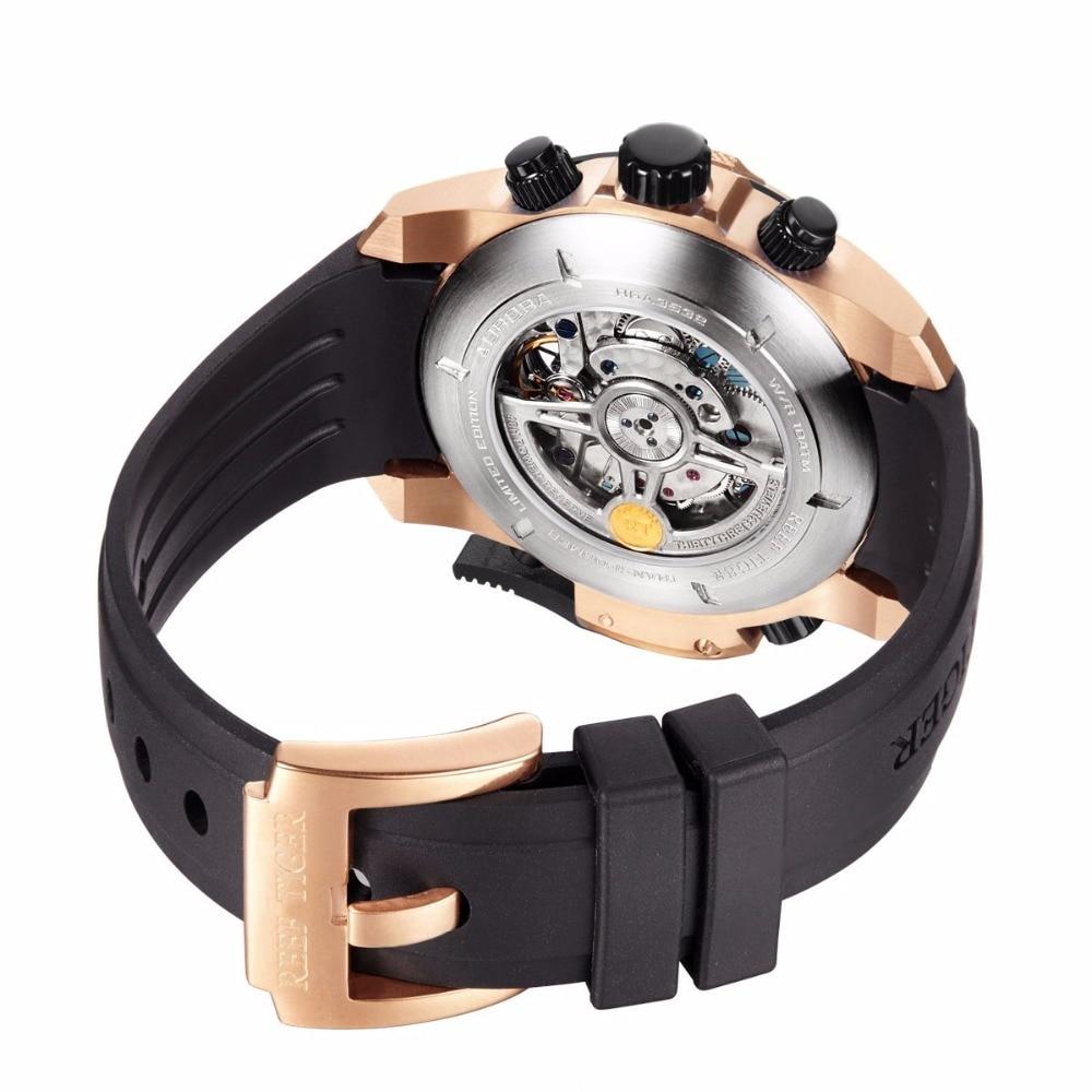 Reef Tiger / RT Męskie Zegarki Sportowe z Skomplikowaną Tarczą - Męskie zegarki - Zdjęcie 6