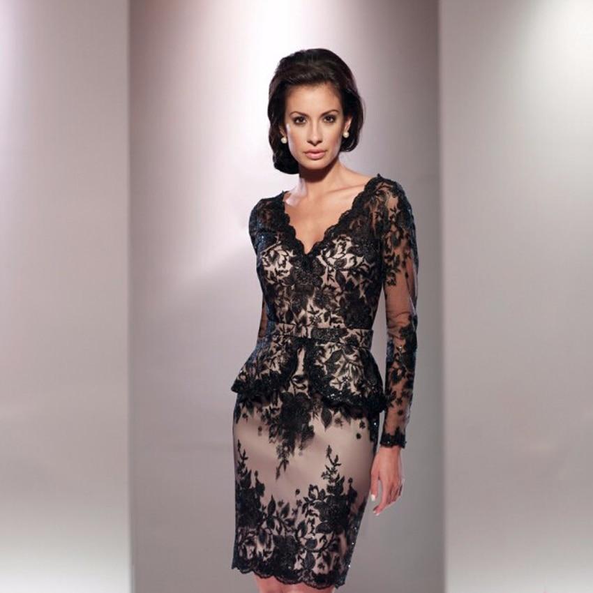 Online Get Cheap Black Lace Evening Dresses -Aliexpress.com ...