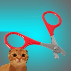 Pet Cat Claw Care Tools Cat Scissors For Nails Pet Supplies Accessories Cat Cleaning Tools For Claw Nails Scissor Pet Products(China)