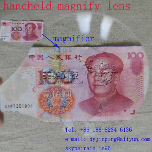 handheld A4 3X Magnifier Fresnel Lens Magnifying Sheet Reading Magnifier Magnifying tool 3x magnifying magnifier